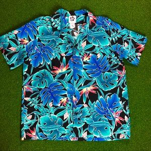 Vintage  HILO HATTIE Hawaiian shirt MADE IN HAWAII